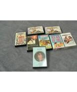Vintage Set of 8 60's, 70's & 80's Music Cassettes Including Elvis Presley - $14.84