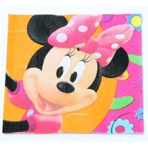 Minnie Mouse Lunch Napkins (16 count) - $3.29