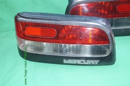 Mercury Capri XR2 XR-2 Taillights Tail Lights Lamp Set 94' image 2