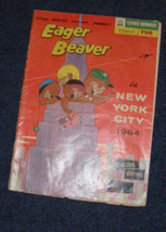 Eager Beaver In NYC 1964 comic cities service - $12.99