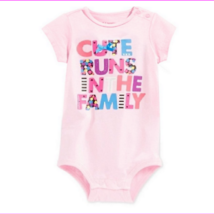 First Impressions Infant's Graphic Bodysuit, Pink, 24 Months - $4.40