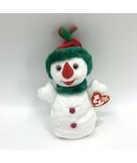 TY Beanie Baby Snowgirl Snowman Plush 2000 - $4.90