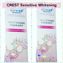 Crest 3D WHITE X 2 tubes Whitening Therapy Sensitive Toothpaste 4.1OZ EX... - $14.74