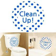 Creative DIY Waterproof Toilet Sticker Bathroom Wall Stickers - $11.32