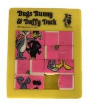 1979 Warner Bros. Bugs Bunny Daffy Duck Sliding Block Tile Puzzle - $9.90