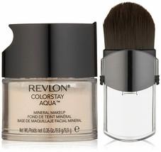 Revlon ColorStay Aqua Mineral Makeup, Light Medium, 0.35 Ounce NEW FRESH - $14.95