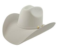 Men's Cowboy Hat El General Texana 50X Horma Rosendo Color Snow Wool - €73,77 EUR