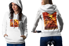 ancient pyramid Womens White Classic Hoodie - $30.99+
