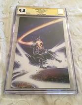 Cosmic Ghost Rider #1 Virgin Variant CGC SS 9.8 Signed Clayton Crain Marvel - $246.51