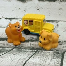 Fisher Price Little People Mcdonalds Toys Buss Dog Cub - $13.86