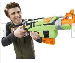 Hasbro Nerf Zombie Strike SlingFire Blaster Outdoor Dart Gun Lever-Action - $95.00