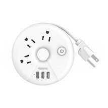 NTONPOWER ODR Strip USA Power Outlet Travel Portable USB Power Overload ... - $28.70