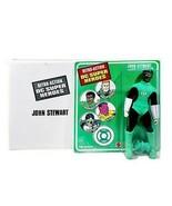 John Stewart Green Lantern Retro DC Super Heroes Figure with Collector Box  - $39.59