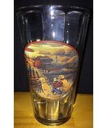 Terry Redlin Best Friends 16oz Pint Glass Paneled Glass Vintage RARE Fre... - $18.89