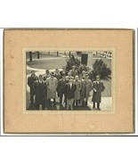 Men in Hats at Work Antique Occupational Photograph 1940s Photography - $18.99