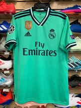 Adidas Real Madrid 2019-20 third jersey With Champions League Patches Size Small - $108.90