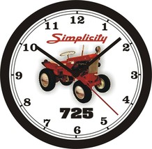Simplicity 725 Lawn Tractor Wall CLOCK-FREE Us Ship - $26.72+