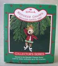 Hallmark Reindeer Champs Dancer Christmas Tree Ornament Collector's Seri... - $9.99