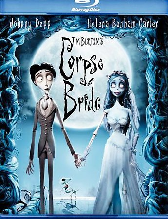 Tim Burton's Corpse Bride (Blu-ray Disc, 2006)