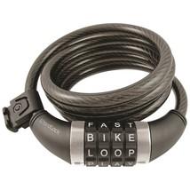 Wordlock Combination Resettable Cable Lock (black) HBCCL411BK - $20.29