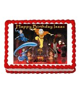 AVATAR AIRBENDER party decoration cake topper edible cake image frosting... - $8.86