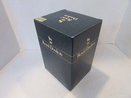 "ROYAL DOULTON EMPTY STORAGE BOX 5.75""D X 9.75""H X 6.75W LG TOBY JUG CAPT... - $13.86"