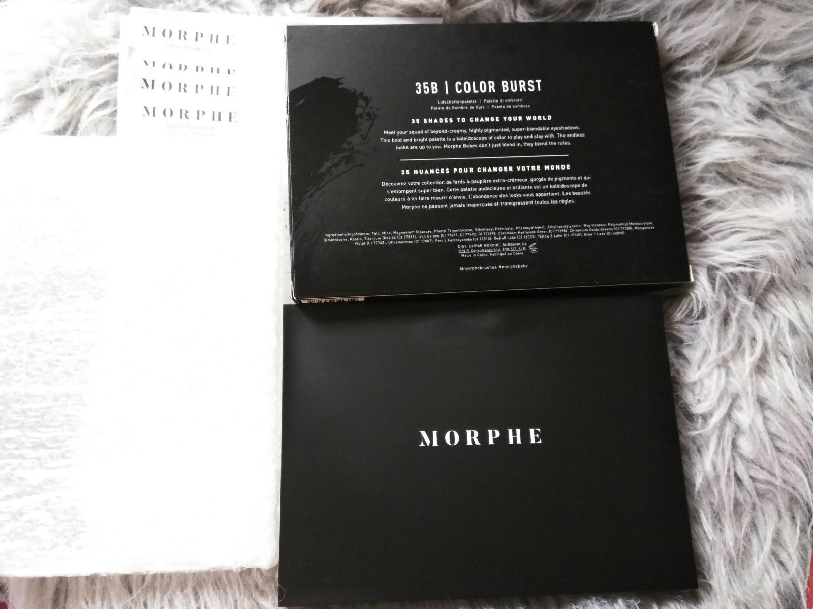 4x Morphe 35B Color Burst Eyeshadow and 33 similar items