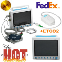 US Portable Vital Signs Patient Monitor Multiparameter ICU CCU Capnograp... - $1,286.01