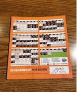 2018 FREDERICK KEYS OPENING DAY MAGNET SCHEDULE PUT ON YOUR FRIDGE!!! - $4.79