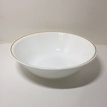 """Vegetable Serving Bowl Round Brown Band Corelle 10.25"""" - $19.34"""