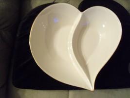 Lenox Heart Shaped, Divided Serving Bowl - $24.95