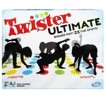 """Twister Ultimate Game, Larger Mat, Classic Play(+), Mat Dimensions 64"""" x... - $35.04"""