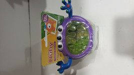 Nuby 3-D Monster Snack Keeper Cups Silicone Kids Toddlers Feeding Toy - $9.99