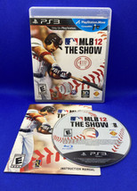MLB 12: The Show (Sony PlayStation 3, 2012) PS3 CIB Complete, Tested, Working! - $13.39