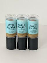 Maybelline Master Blur Stick/Face Studio #130 Medium Tan .3 oz Each Set of 3 - $14.85