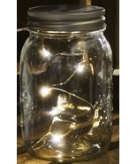 Mason jar lid w/built in micro lights  - $14.99