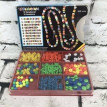 Vtg Kids Plastic Bead Set Crafts From Germany - $19.79
