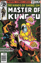 Master of Kung Fu Comic Book #72, Marvel Comics 1979 VERY FINE - $4.50