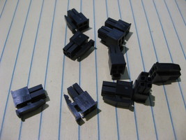 Lot of 20 Tyco / AMP 794617-4 Connector 4 Pin Recepticle 3mm 2x2 - NOS - $4.74