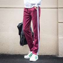 New Mens Sweatpants Casual Loose Plus Size Sport Trousers Straight Tennis Pants - $30.60