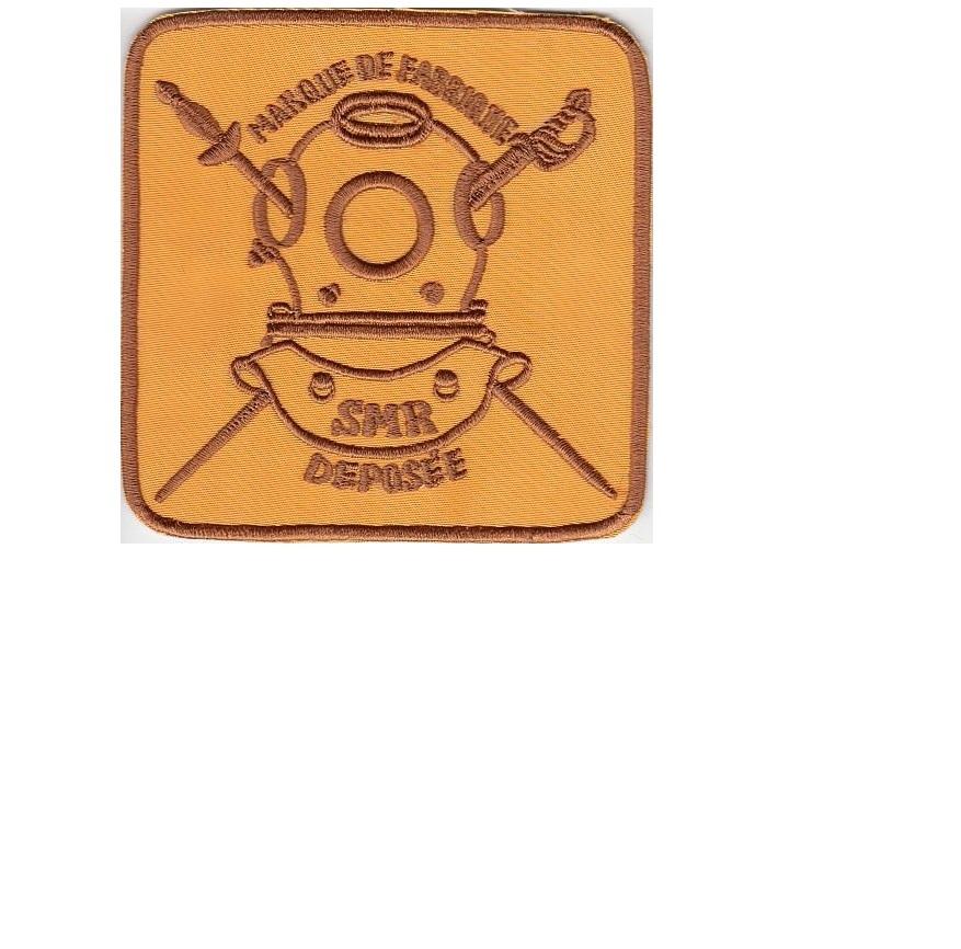 hard hat diving france sp cialit s m caniques r unies smr de denayrouze 1874 gold 4.5 x 4.25 in