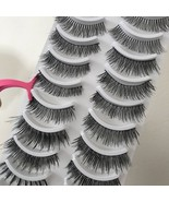 CERROQREEN False Eyelashes 3d Mink Fur Fake Eyelashes 100%Mink Fur Hand ... - $12.23