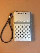 Vintage Realistic Crystal Controlled Hand-held Weatheradio (Radio Shack)
