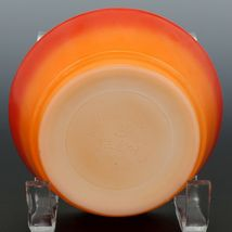 "Fire-King 5"" Stacking Bowl Sunset Flame image 3"