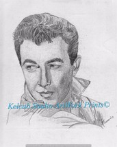 RARE Actor Robert Taylor by Chicago Artist Sign... - $9.99