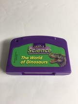 Leap 2 Reading LeapFrog Game Cartridge Only The World Of Dinosaurs Science World - $8.90