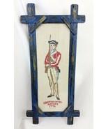Vintage American Revolution Cross Stitch Sampler Continental Armies 1776... - £21.51 GBP