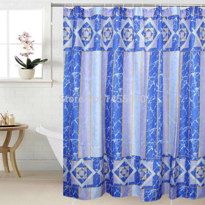 WIDEN Polyester Terylene Crack Waterproof Thicken Shower Curtains Bathroom Showe