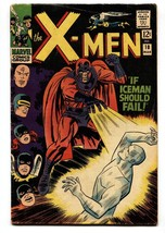 X-MEN #18 1966-MARVEL COMICS-ICEMAN-MAGNETO-AYERS Art Vg+ - $63.05