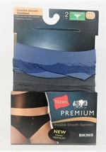 Hanes Women's 2pk Premium Bikinis Invisible Smooth Seamless Sizes 5/S or... - $11.99
